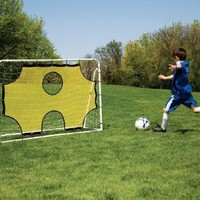Mitre 3-in-1 Soccer Goal and Trainer (Steel)