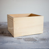 Wood box wedding wishes box advice for the bride and groom advice for the new mommy bridal shower gift for the bride wedding invitation box