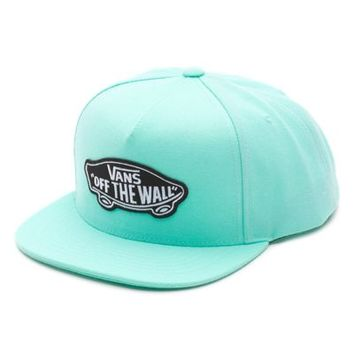 Vans Classic Patch Snapback Hat (Mint Green)
