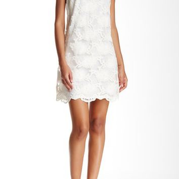 CeCe by Cynthia Steffe | Arlington Scalloped Shift Dress | Nordstrom Rack