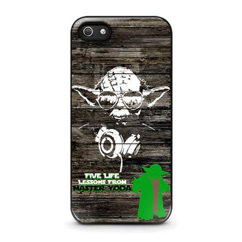 MASTER YODA STAR WARS iPhone 5 / 5S / SE Case Cover