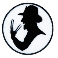 Freddy Krueger Iron on Applique Horror Clothing Nightmare on Elm Street Serial Killer