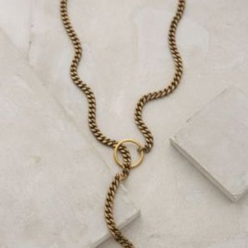 Pearl Lariat Necklace by Lena Bernard Pearl One Size Necklaces
