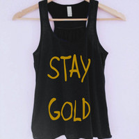 Stay Gold Tank-Top