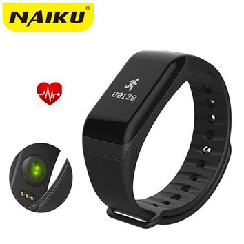 NAIKU Fitness Tracker Wristband Heart Rate Monitor Smart Band