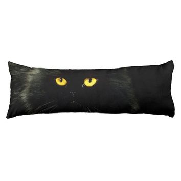 Black Cat Body Pillow