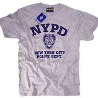 NYPD Shirt T-Shirt Clothing Apparel Officially Licensed Merchandise