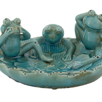 Timeless Ceramic Frog Bowl