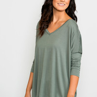 Piko: Laurynn V-Neck Tunic