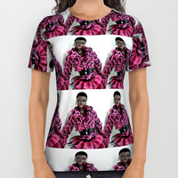 blackbarbiepattern All Over Print Shirt by Kathead Tarot/David Rivera