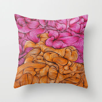 Woven Together Throw Pillow by DuckyB (Brandi)