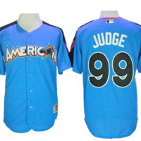 KUYOU New York Yankees Jersey - Aaron Judge - 2017 All Star Game Home Run Champion