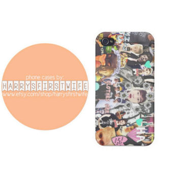 5 Seconds of Summer collage (5sos) iPhone 4/4s 5/5s/5c & iPod 4/5 Case