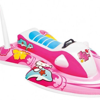 Hello Kitty Inflatable Jet Ski