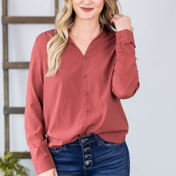 Nora Buttoned Down Blouse