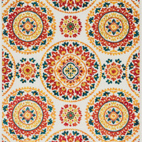 Oasis Red / Multi 7Ft 10In X 10Ft 9In Rug