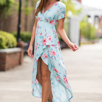 Covered In Beauty Maxi Dress, Mint