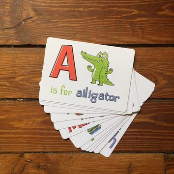 The NOLA ABCs Flash Cards