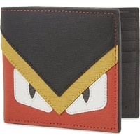 FENDI - Monster leather wallet | Selfridges.com