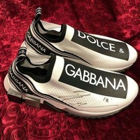 Dolce & Gabbana Branded Sorrento Sneakers Shoes