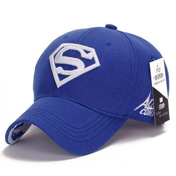 ESBG8W NEW Brand SUPERMAN Polo Snapback Mens Baseball Caps Women Fitted Adjustable Hat Gorras Planas Casquette Chapeau Homme