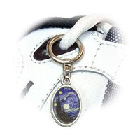 Starry Night - Vincent Van Gogh Shoe Charm