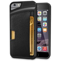 Ultra-Slim Hybrid iPhone Wallet Case