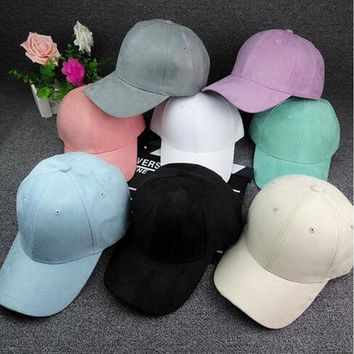 Trendy Winter Jacket New Arrival Fashion Unisex Men Women's Suede Baseball Cap Snapback Visor Sport Sun Adjustable Hats Brand New and High Quality AT_92_12