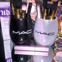 2PC set MAC Makeup Brush Holders - YOU CUSTOMIZE!