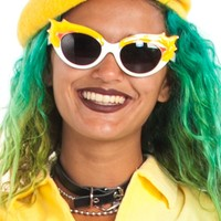 Sunshine Yellow Beret