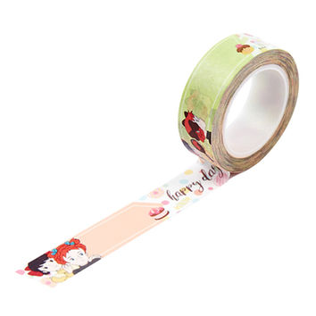 Anne of green gables 0.59X11yd single deco masking tape - Happy day
