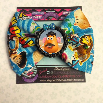 Toy story hair bow mr. Potato head / woody / buzz / slinky