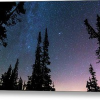Getting Lost In A Night Sky Metal Print