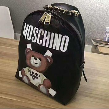 VONEGZ MOSCHINO' Casual Sport Laptop Bag Shoulder School Bag Backpack G-A-GHSY-1