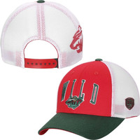 Minnesota Wild Old Time Hockey Blaster Adjustable Hat – Red