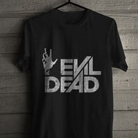 Evil Dead Horror movie poster logo 1981 Mens Tshirt