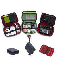 Travel Organizer Storage Collection Bag Case Pouch Digital Gadget Cable Adapter