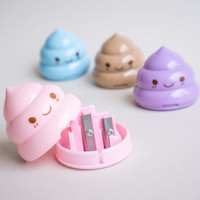 Kawaii Poop Sharpener Korean stationery