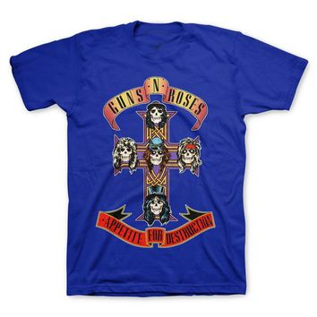 Guns N' Roses Cross Tee