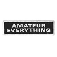 Amateur Everything Patch