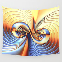 Curvitude Wall Tapestry by Lyle Hatch | Society6