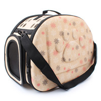 New Pet Breathable Travel Bag Dog Cat Pet Foldable Carrier Dog Portable Bag Crate 3 Colors bolsos para transporte de mascotas