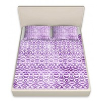 Pam Gallegos- Pom Graphic Design's 'Tribal Mosaic' | Designer Unique Bed Sheets