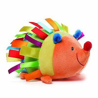 Gund Baby Color Fun Silly Sounds Toy Hedgehog New Free Ship