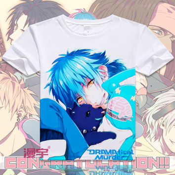 Dramatical Murder Short Sleeve Anime T-Shirt V11