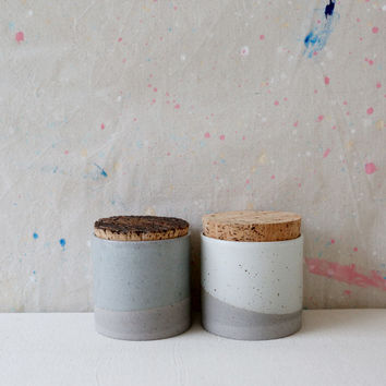 Large Humble Ceramics Canister