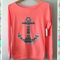 Long Sleeve- Aztec Anchor
