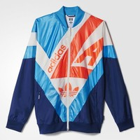 adidas Archive Supergirl Windbreaker - Blue | adidas US
