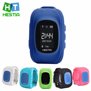 Children Wristwatch GPS Locator Tracker Anti-Lost Smartwatch for iOS Android