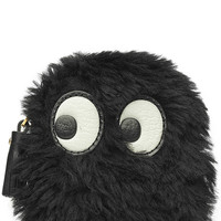 Anya Hindmarch - Ghost Shearling Zipped Coin Purse